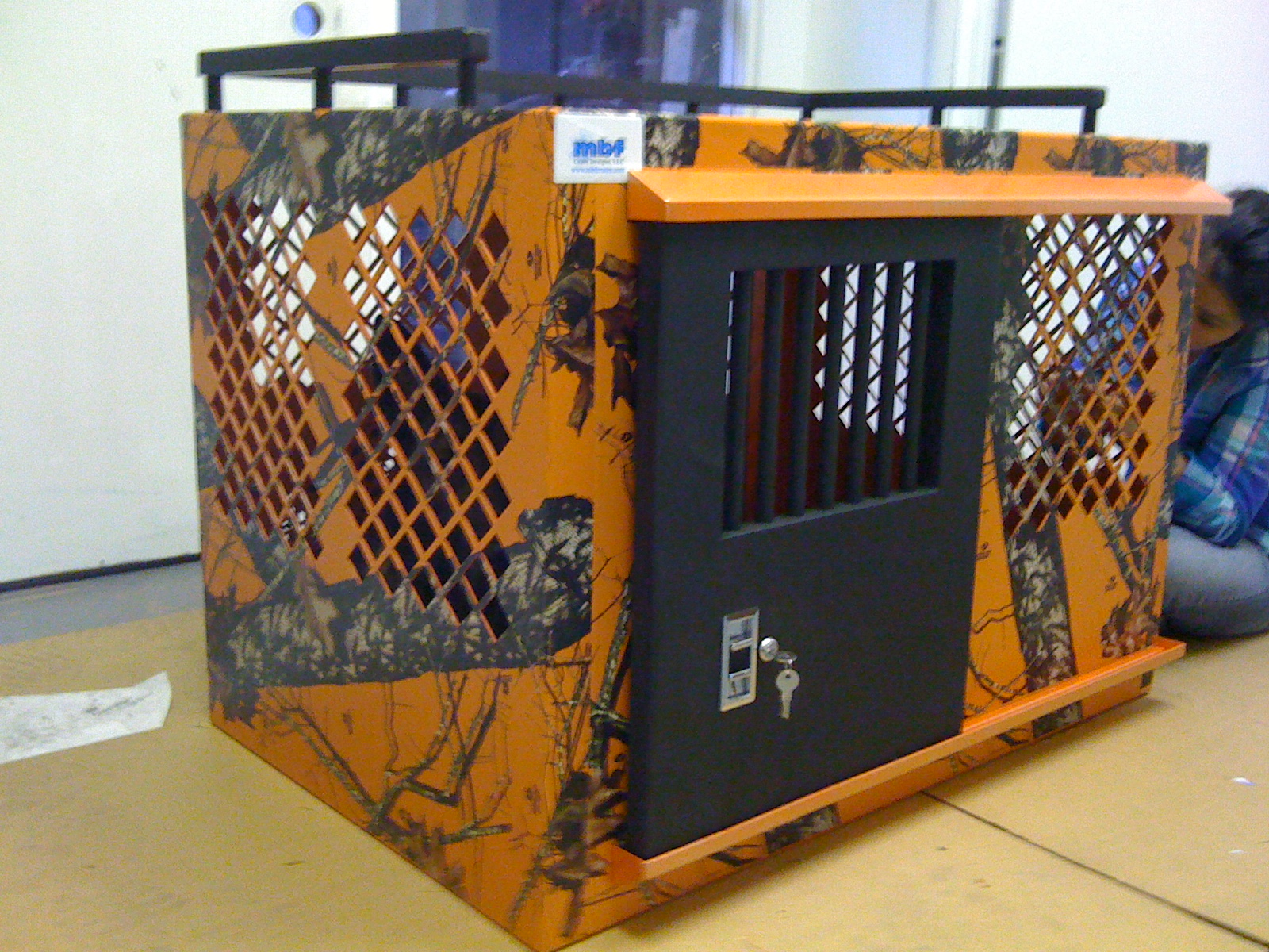 Custom Dog Crate Defender Series